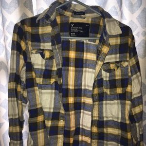 AE men's flannel